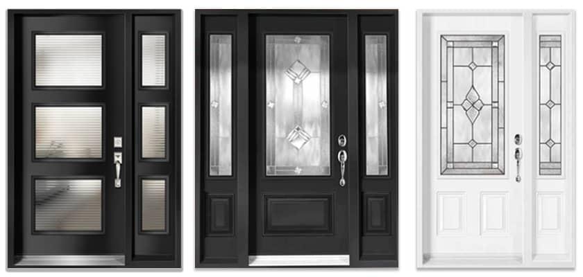 Front Entrance Doors with Decorative Glass  sc 1 st  Windows \u0026 Doors & Patio Doors Entrance/Front Doors Sliding Doors - Durable \u0026 Beautiful